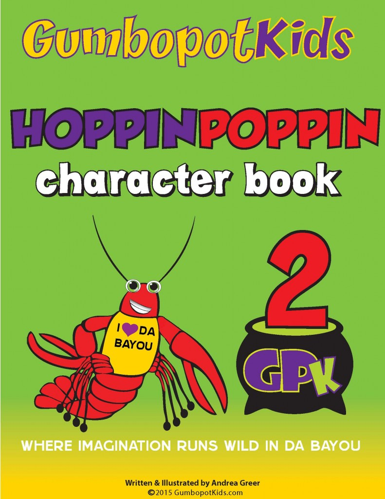 GPK HOPPINPOPPIN CHARACTER BOOK (Coming Soon)