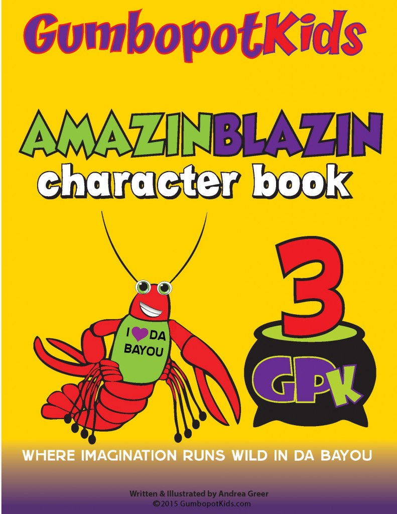 GPK AMAZINBLAZIN CHARACTER BOOK (Coming Soon)